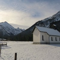Das Stillachtal im ersten Schnee