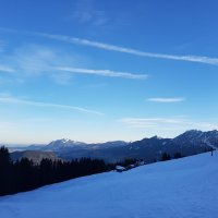 Bergpanorama Oberstdorf