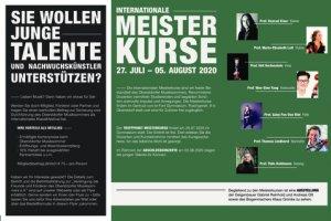 Oberstdorfer Musiksommer 2020 - Festivalflyer