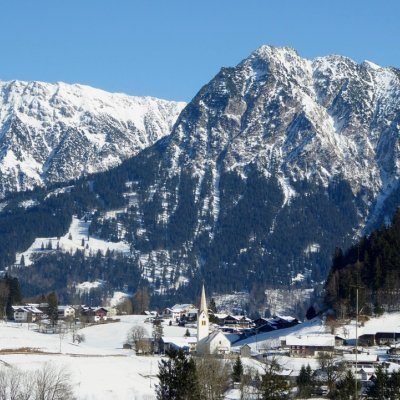 Winterliches Tiefenbach