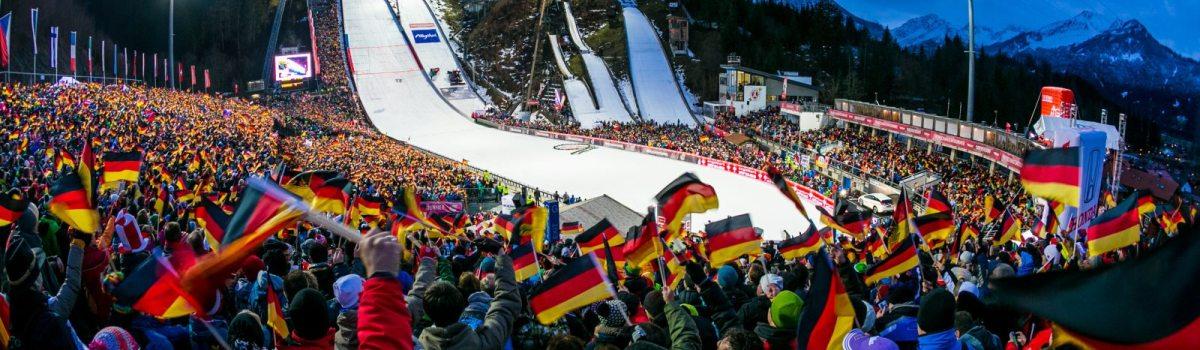 WM Skisprung Arena