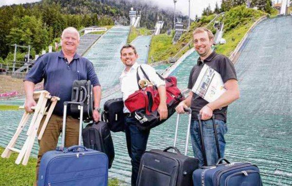 Die Koffer sind gepackt!
