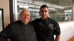 Küchenchefs unter sich: Hector und Harry