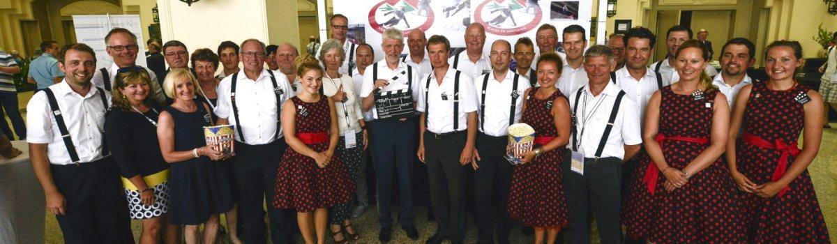 Bewerbungs-Delegation mit DSV und Team Oberstdorf