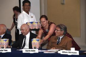 Popcorn durfte für das Council natürlich auch nicht fehlen