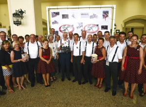 Die Oberstdorfer Delegation beim FIS Kongress