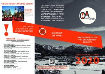 Parteifrei und offen für die Zukunft Oberstdorfs