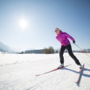 Cross-country skiing in Oberstdorf