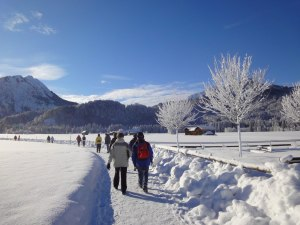 Winterwandern in Oberstdorf
