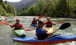 Kajak-Tour mit der Wildwasserschule Oberstdorf