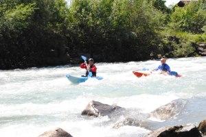 Action pur im wilden Wasser