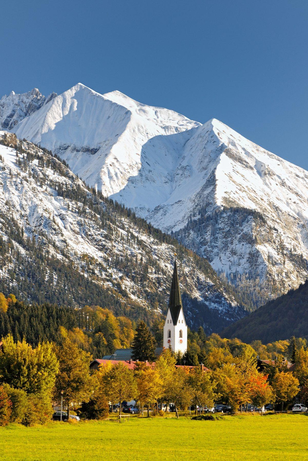 Herbststimmung in Oberstdorf