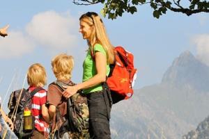 Familienglück in der Ferienwelt