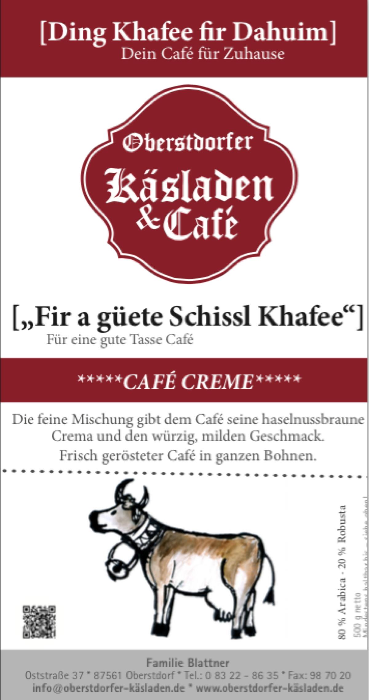 Café Creme 500g