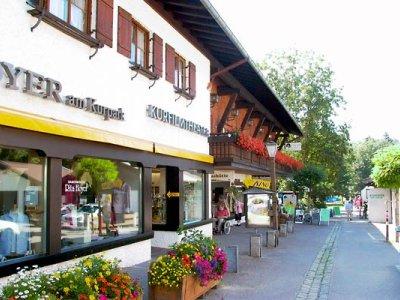 Eingang des Kurfilmtheater Oberstdorf