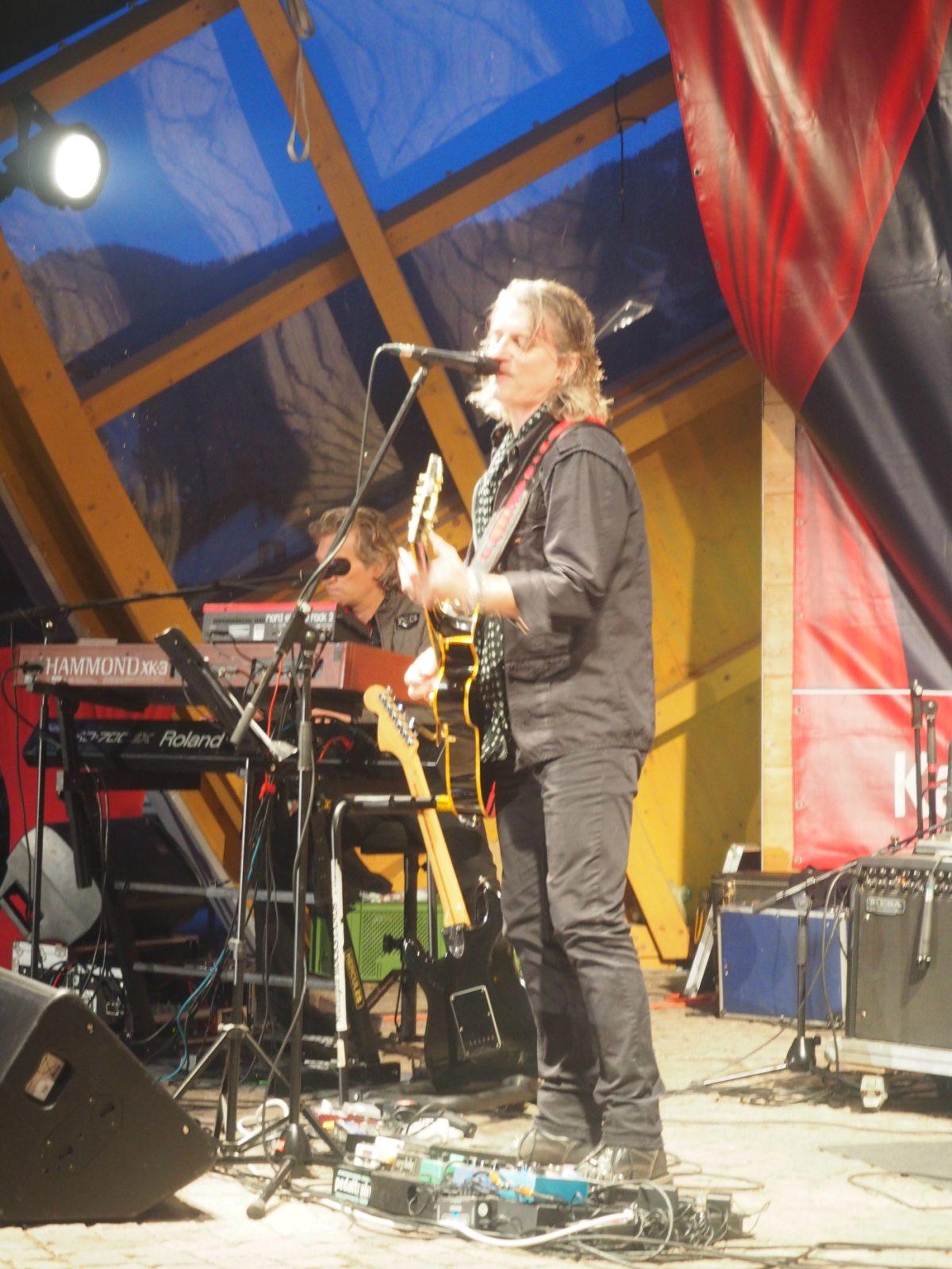 Graeme Lockhart und Band