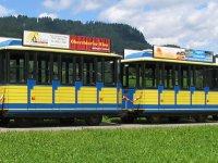 Attraktive Werbefläche auf dem Oberstdorfer Marktbähnle