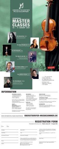 Oberstdorfer Musiksommer 2021 Masterclasses