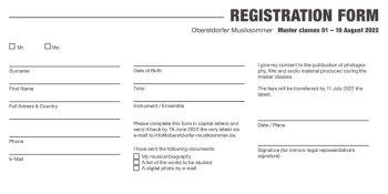 Oberstdorfer Musiksommer 2022 Registrationform Masterclass