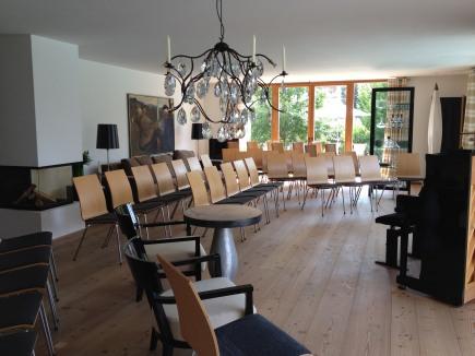 Konzertraum im Bergesgrün