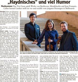 2018-07-27 Allgaeuer Anzeigeblatt Haydnisches und viel Humor