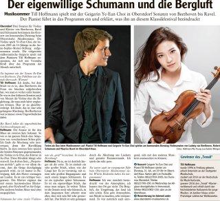 2018-07-28 Allgaeuer Anzeigeblatt Der eigenwillige Schumann und die Bergluft