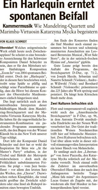 2018-08-04 Allgaeuer Anzeigeblatt Ein Harlequin erntet spontanen Beifall