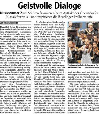 2019-07-27 Allgaeuer Anzeigeblatt Eröffnungskonzert