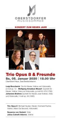 Flyer Konzert zum neuen Jahr 05.01.2020