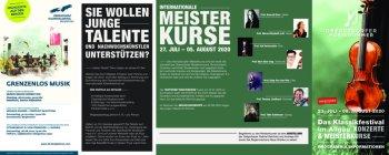 OberstdorferMusiksommer 2020-Festivalflyer