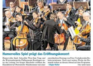 2019-07-27 PR-Bericht IS Oberstdorfer Musiksommer - Humorvolles Spiel