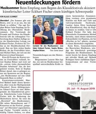 2019-07-27 PR-Bericht IS Oberstdorfer Musiksommer- Neuentdeckungen fördern