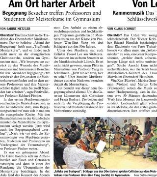 2019-08-02 PR-Bericht IS Oberstdorfer Musiksommer - Meisterkurse