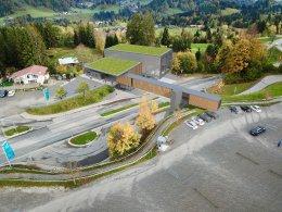 Modell neue Talstation Söllereck
