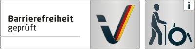 Logo Barrierefreiheit geprüft