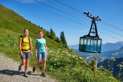 Wandern am Walmendingerhorn
