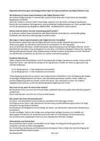 FAQ Superschnee und AGC 2020