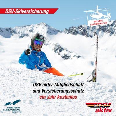 DSV Skiversicherung für MMC 2020
