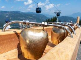 Glockenspiel der Kugelbahn