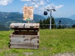Schatztruhe Kugelbahn