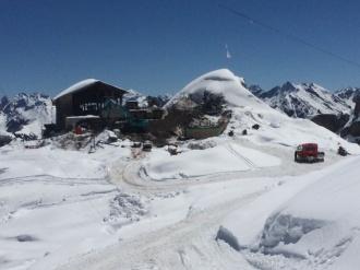 Abbruch der Bergstation Hahnenköpflebahn