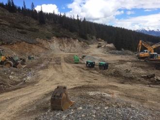 Der Abbruch der Bergstation Ifenbahn ist weitgehend abgeschlossen