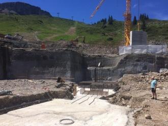 Fundamentarbeiten Mittelstation