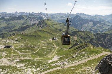 Klettersteigset Oberstdorf Leihen : Die nebelhornbahn in oberstdorf im allgäu