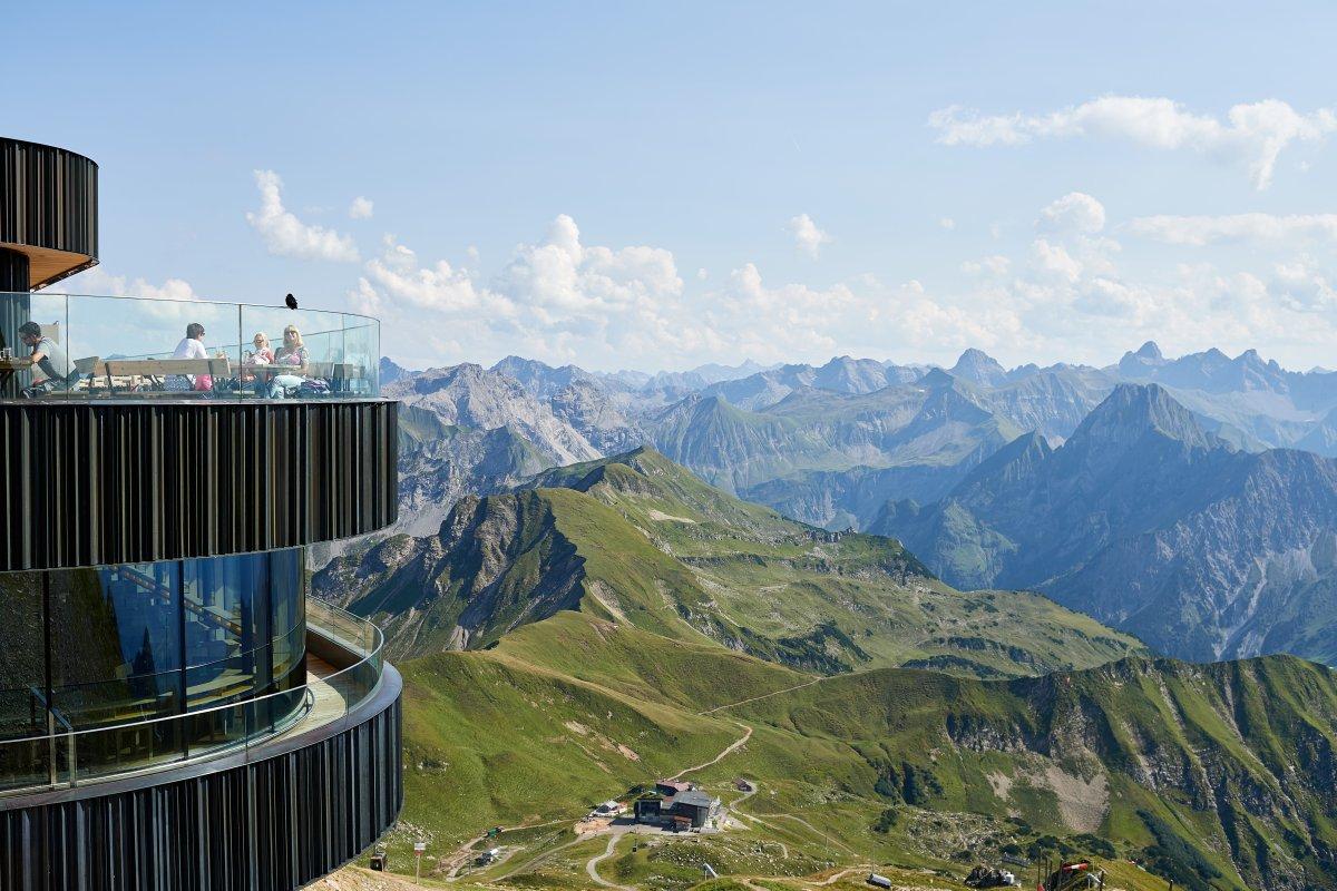 Klettersteigset Leihen Oberstdorf : Die nebelhornbahn in oberstdorf im allgäu