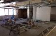 Die ersten Wände in der Küche des Tafel&Zunder sind bereits gefliest