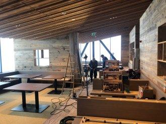 Baufortschritt beim Holzausbau im Tafel&Zunder