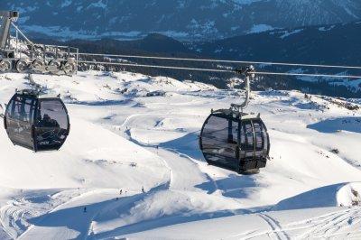 Die Ifen II hoch über dem Skigebiet