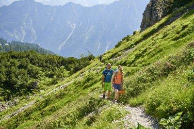 Gleich gehts in den Klettersteig