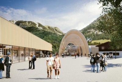 Neubau Nebelhorn Talstation